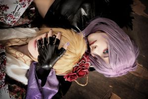 Vocaloid Cosplay : GakupoxLen by yuegene