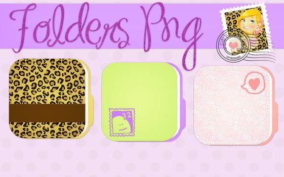 Folders Png by Payasiita