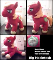 Big Macintosh Plush by Miiroku