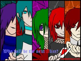 who will be the next alice? by deaththekidsgirl1030