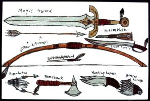 Kevlron's Choice Weapons by Supajames1