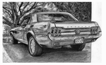 Ford-mustang-drawing by henrydsv