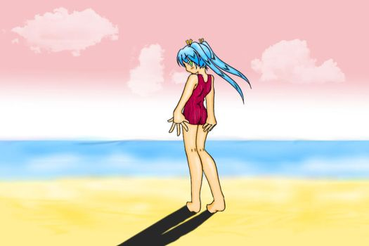 Photoshop attempts 3 - Beach by rustyblood