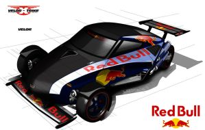 Velorex Red Bull by Chavito34