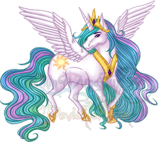 MLP Event - Princess Celestia by QilinDynasty