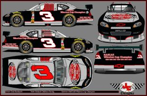 Dale Earnhardt Champion Chevy by JcMotorsport