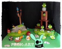 angry birds by prok-art