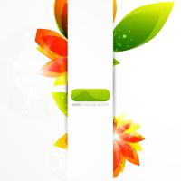 Petals Background Vector by ImperiusDesigns