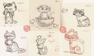 2010.03.06 Daily Poes by SylviaDraws