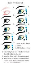 Eye Tutorial by TorazTheNomad