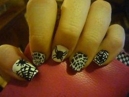 spider nails by uutopicaa