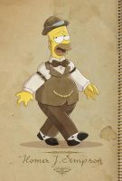 Homer Vintage by Conny-from-France