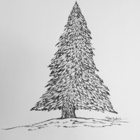 Pine Tree by RusticLilyCreative