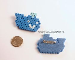 Whale Pins by MelodyMaid