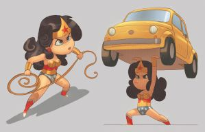 WonderWoman by scoppetta