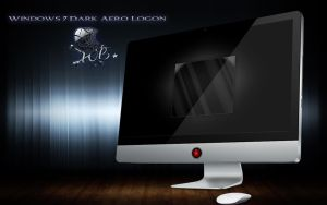 dark logon for windows 7 by wallybescotty
