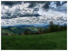 Beskidy mountains in Poland by ZbyszekK