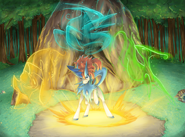 pokeddexy 18 water - keldeo by Peegeray