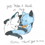 thank you jomo by Zenramaru