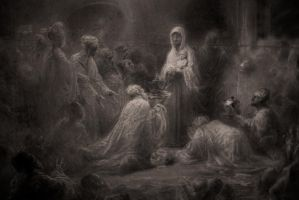 Adoration of the Magi by attomanen