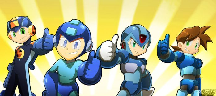 Megaman Aprroved by StaticBlu