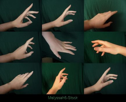 Hand Pose Stock - Reaching by Melyssah6-Stock