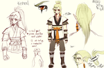 OCs -- Kestrel Design by onisuu