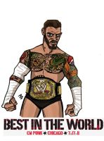 CM Punk by Chrisgemini