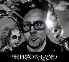 Tim Burton by CSM-101
