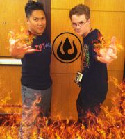 Me and Dante Basco at Momocon 2014 by danielwartist
