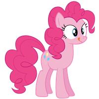 [Vector] Pinkie Pie ~ Don't be ridiculous by 2bitmarksman