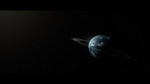 Planet In Sunlight by Elalition