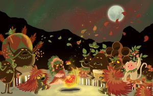 The Deku Autumn Festival by monkeykaos