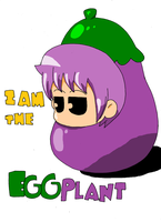 I am the eggplant by Ukitake1984