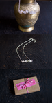 Moonstone necklace by MadBlackie
