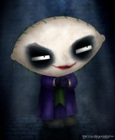 The Joker a.k.a Stewie Griffin by Mecha-Potato-Alex