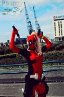 Lady Deadpool Cosplay by Inuyomi