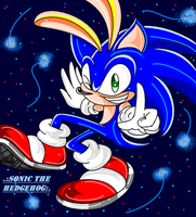 .:Sonic Awsomeness Hedgehog:. by GreenZora