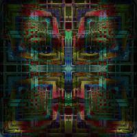abstract face by ordoab