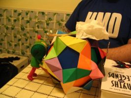 Katamari Arrives - Action by MichaelBeckett