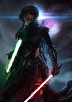 Dark Jedi by alecyl