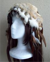 Woodland Headdress by Xavietta