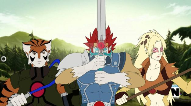 Thundercats 2011 'Ready for Battle' by THEWHITETIGER97