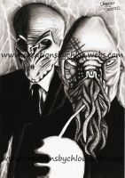 SILENCE OOD!! by ItsCloctorArt