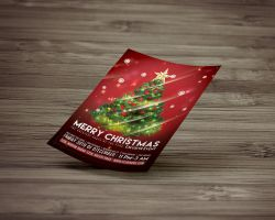 Christmas Party Flyer Template by Creative-samiul