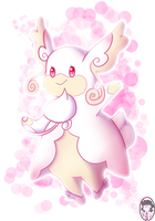 Mega Audino by VanessaGiratina