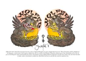 EF17 Badges - Wolfer by Quoosa