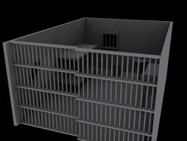 Prison Cell by MrQuebec