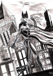 Batgirl ink wash 2015 by Shaun2186