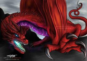 The Red Wryven by RedWryvenArt